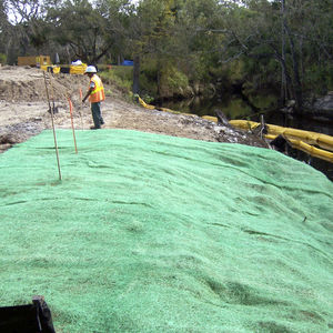 erosion control biodegradable mat