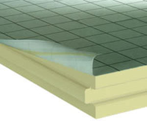 acoustic insulation / thermal / polyisocyanurate (PIR) foam / interior