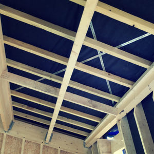 solid wood beam / I / for flooring / framing