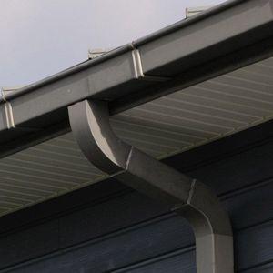 zinc roof gutter