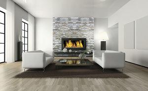 natural stone wall cladding panel / interior