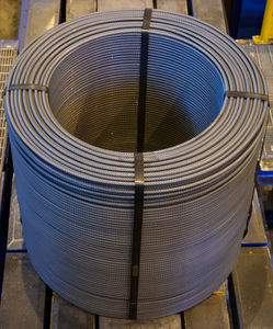 coiled steel bar