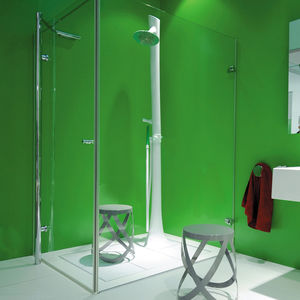 shower column with hand shower