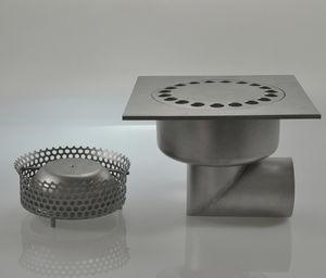 Stainless Steel Floor Drain Patio Grated Custom 0105