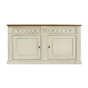french style sideboard / oak / cherrywood / mahogany