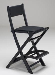 wooden makeup chair