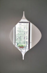 gypsum plaster room divider