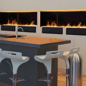 electric open hearth