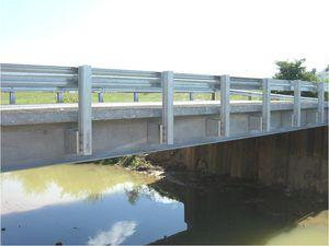steel beam / H-shaped / for bridge construction