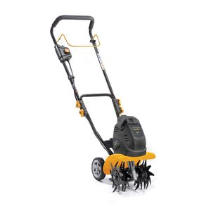 electric walk-behind cultivator / with gauge wheels