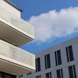 HPL balustrade / panel / outdoor / indoor