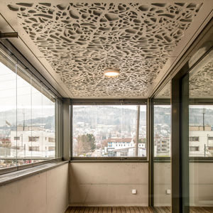 cover decorative panel / wood / for false ceilings / for railing