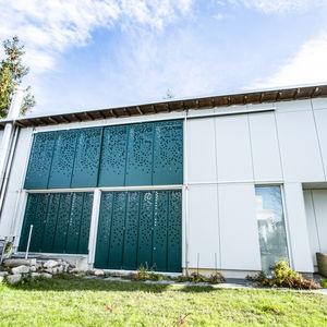 HPL ventilated facade
