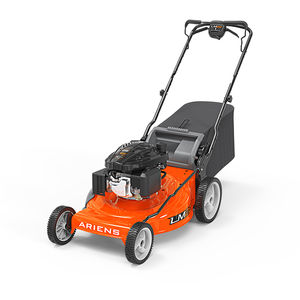 walk-behind lawn mower / gasoline / collecting / self-propelled
