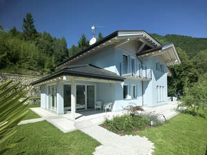 modular house / contemporary / wooden frame / wood