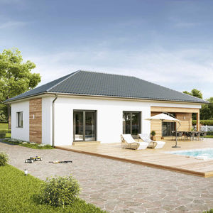 bungalow type house