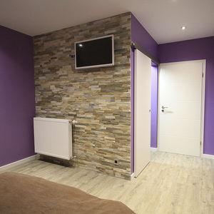 quartzite wall cladding panel / interior / exterior / 3D