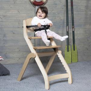 standard highchair / lacquered wood / birch