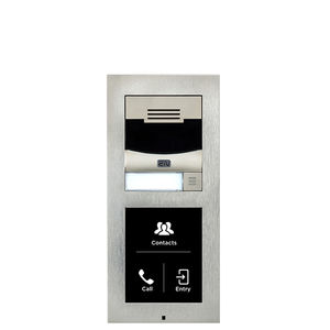 door station with camera / without camera / vandal-proof / IP