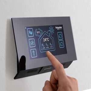 white video door intercom