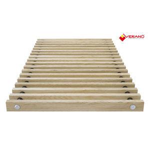 wooden ventilation grill