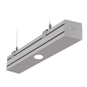 surface mounted emergency light / hanging / rectangular / LED