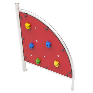 fixed climbing wall