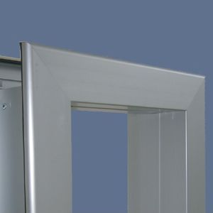 Aluminum door frame - All architecture and design manufacturers - Videos
