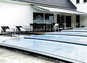 flat swimming pool enclosure