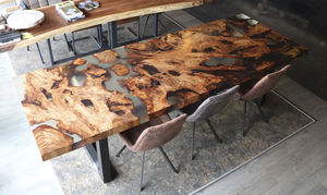 Epoxy Dining Table All Architecture And Design Manufacturers