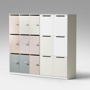 melamine storage locker