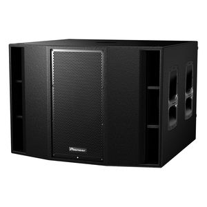 built-in subwoofer