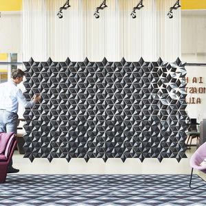 office room divider / modular / hanging / indoor