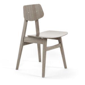 Scandinavian design chair / oak