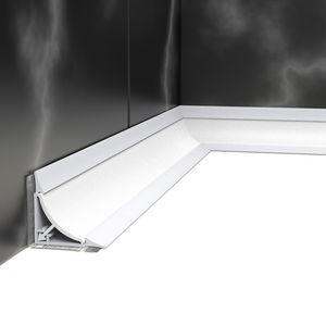 PVC edge trim / for tiles / outside corner / inside corner