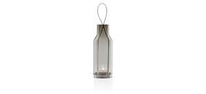 stainless steel lantern / glass