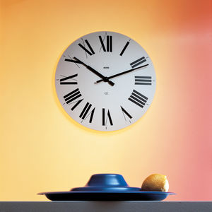 contemporary clocks / analog / wall-mounted / ABS
