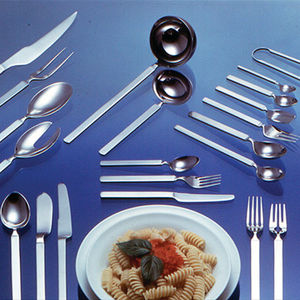 stainless steel cutlery / polished stainless steel / by Achille Castiglioni / commercial