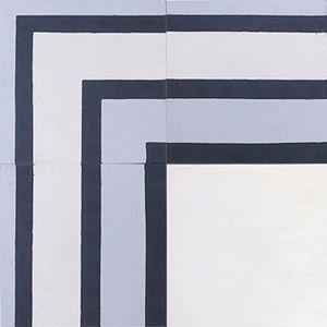 cement border tile