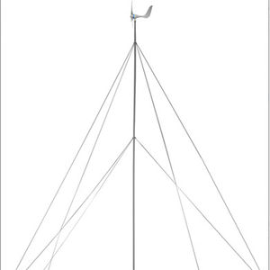 vertical-axis small wind turbine