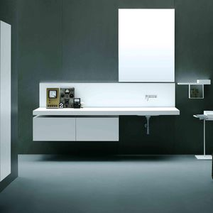 Corian® vanity top / Silestone® / Dekton® / Cristalplant®