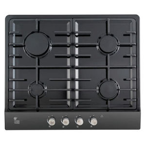 gas cooktop / with grill / 4 burners