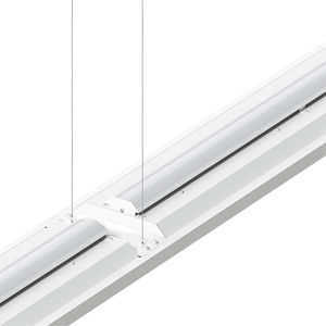 hanging light fixture / LED / linear / rectangular