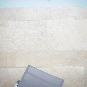 limestone paving slab