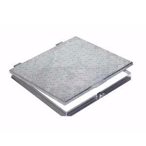 galvanized steel manhole cover