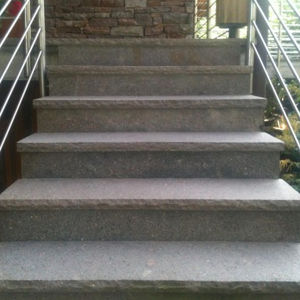 stone step covering