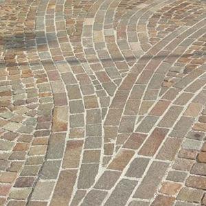 porphyry paver / pedestrian / matte / outdoor
