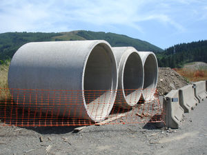 reinforced concrete pipework