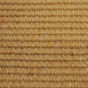 loop pile carpet / handmade / wool / sisal