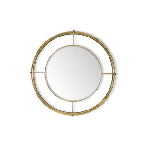 wall-mounted mirror / bedroom / living room / contemporary